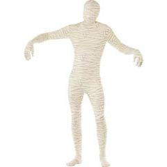 Disfraz momia sombra, Malla