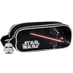 Estuche portatodo Star Wars doble