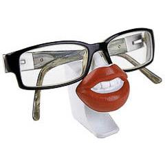 Soporte para gafas modelo labios