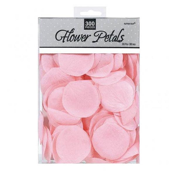 Confeti de tela rosa, pétalos
