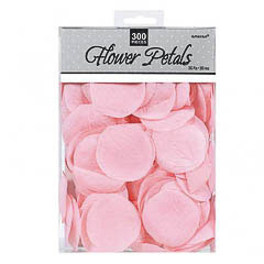 Bolsa confeti de tela rosa