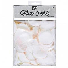 Bolsa confeti de tela blanco
