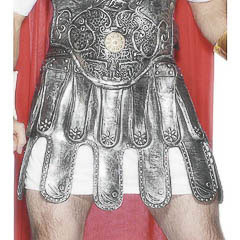 Falda armadura romano de PVC