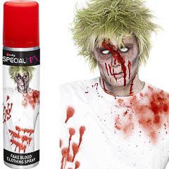 Sangre en spray para ropa