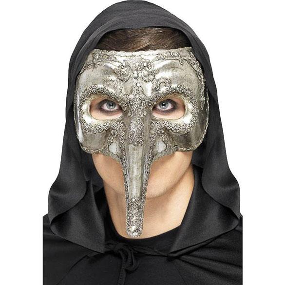 Máscara veneciana rígida capitano
