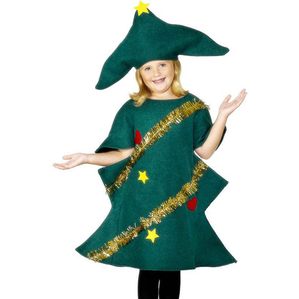 disfraz rbol navidad infantil