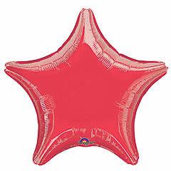 Globo estrella Roja