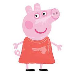 Globo cuerpo Peppa Pig