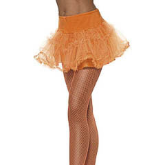 Falda tutu naranja adulto talla única