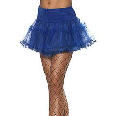 Falda tutu azul adulto talla única