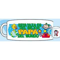 Taza cerámica es del mejor papá del mundo