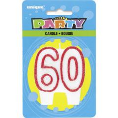 Vela cumpleaños 60 años
