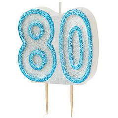 Vela cumpleaños 80 años
