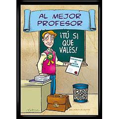 Marco diploma al mejor profesor