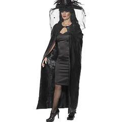 Capa negra bruja o vampiresa - Ítem
