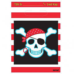 Pack 8 bolsas piratas