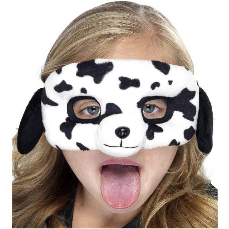 Antifaz perro dálmata infantil de peluche