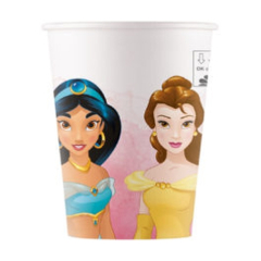 Vasos Princesas 200 ml, Pack 8 u.