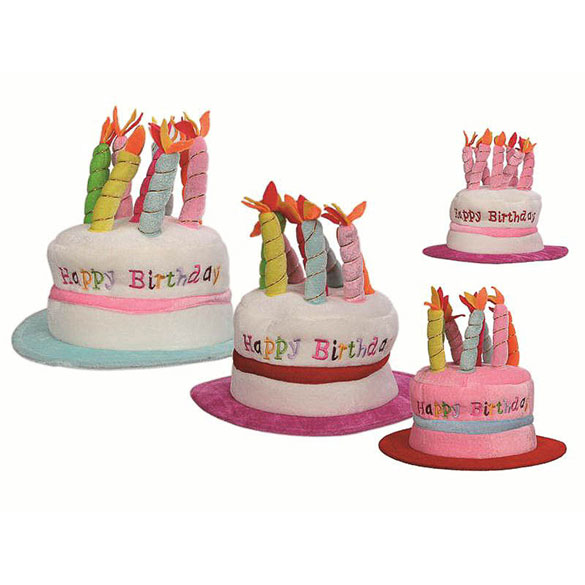 sombrero tarta cumpleaos adulto talla nica