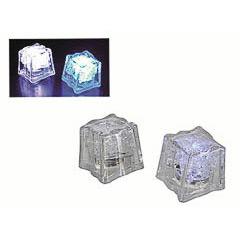 Pack de 4 cubitos de hielo con luz