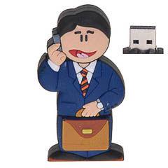 Memoria USB 8GB hombre de negocios