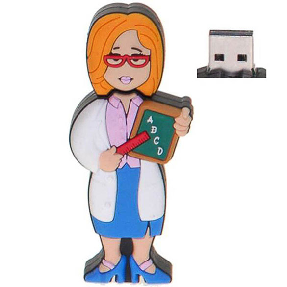 Memoria USB maestra o profesora 8GB