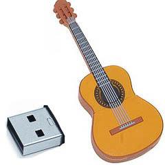 Memoria USB guitarra española