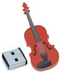 Memoria USB violín 8GB