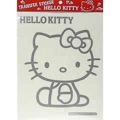 Pegatina transferible Hello Kitty