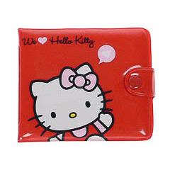 Billetera Hello Kitty modelo globo corazón