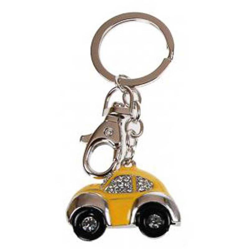 Llavero coche Escarabajo amarillo