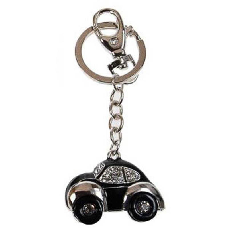 Llavero coche Escarabajo negro