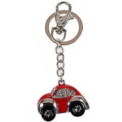 Llavero coche Escarabajo rojo