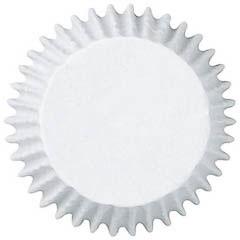 Pack de 100 cápsulas mini cupcakes blancas Wilton