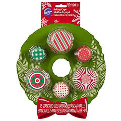 Set cápsulas y mini cápsulas Navidad Wilton