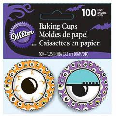 Pack de 100 cápsulas ojos Halloween cupcakes Wilton