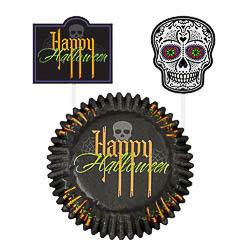 Pack decoración cupcakes Halloween