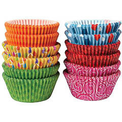 Pack de 300 cápsulas cupcakes 6 modelos