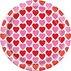 Pack 8 Platos corazones