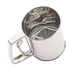 Tamizador de harina en acero inoxidable Kitchen Craft