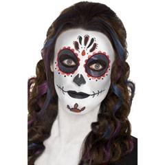 Set de maquillaje Día de los Muertos