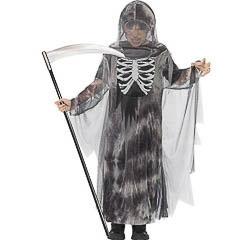 Disfraz muerte fantasmal infantil