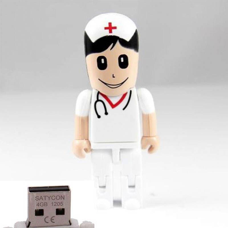 Memoria USB enfermera 8GB