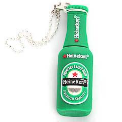 Memoria USB botella cerveza Heineken