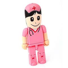 Memoria USB enfermera rosa 8GB