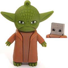 Memoria USB Yoda Guerra de las Galaxias