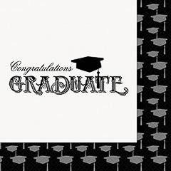 Pack 16 servilletas Graduación