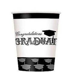 Pack 8 vasos Graduación