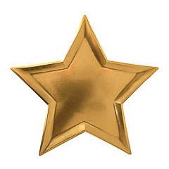 Platos forma de estrella