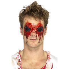 Maquillaje adhesivo ojos Zombi